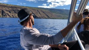 Chartering a boat tour of the Big Island is one of the best ways to experience the raw nature of Hawaii